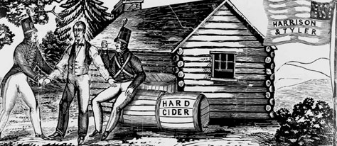 The Inebriated Election of 1840