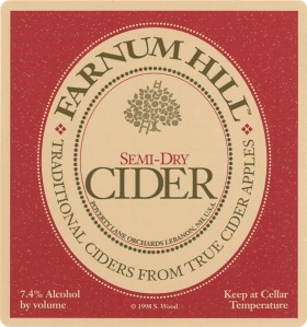 Farnum Hill Semi-Dry Label